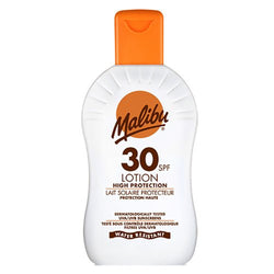 Malibu Travel Size Sun Lotion 100ml SPF 30 - Travel Toiletries 2 Go