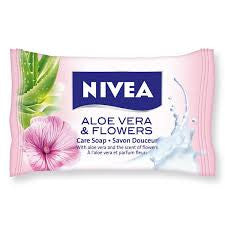 Nivea Soap Aloe Vera and Flowers 90g - Travel Toiletries 2 Go