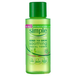 Simple Mini Travel Size Facial Toner 50ml - Travel Toiletries 2 Go