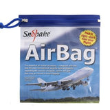 Snopake Airbag for hand luggage on flights 20cm x 20cm