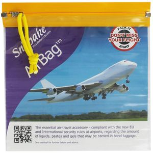 Snopake Airbag for hand luggage on flights - Travel Toiletries 2 Go