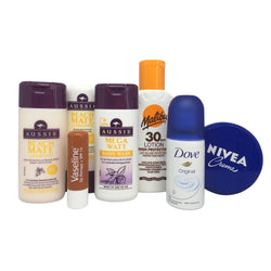 Sunshine Holidays Beach Travel Toiletries Set - Travel Toiletries 2 Go