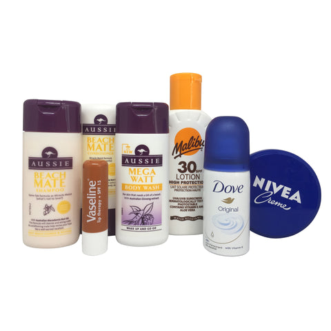 Sunshine Break Travel Toiletries Set - Travel Toiletries 2 Go