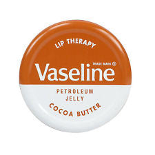 Vaseline Intensive Care Lip Jelly Cocoa 20g - Travel Toiletries 2 Go