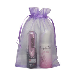 Minis gift set for women - Travalo and Impulse - Travel Toiletries 2 Go