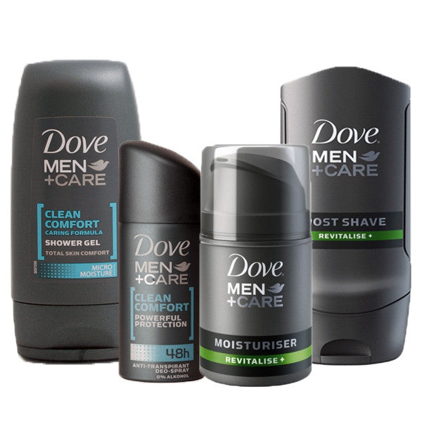 Dove Men+Care Travel Toiletries Set - Travel Toiletries 2 Go