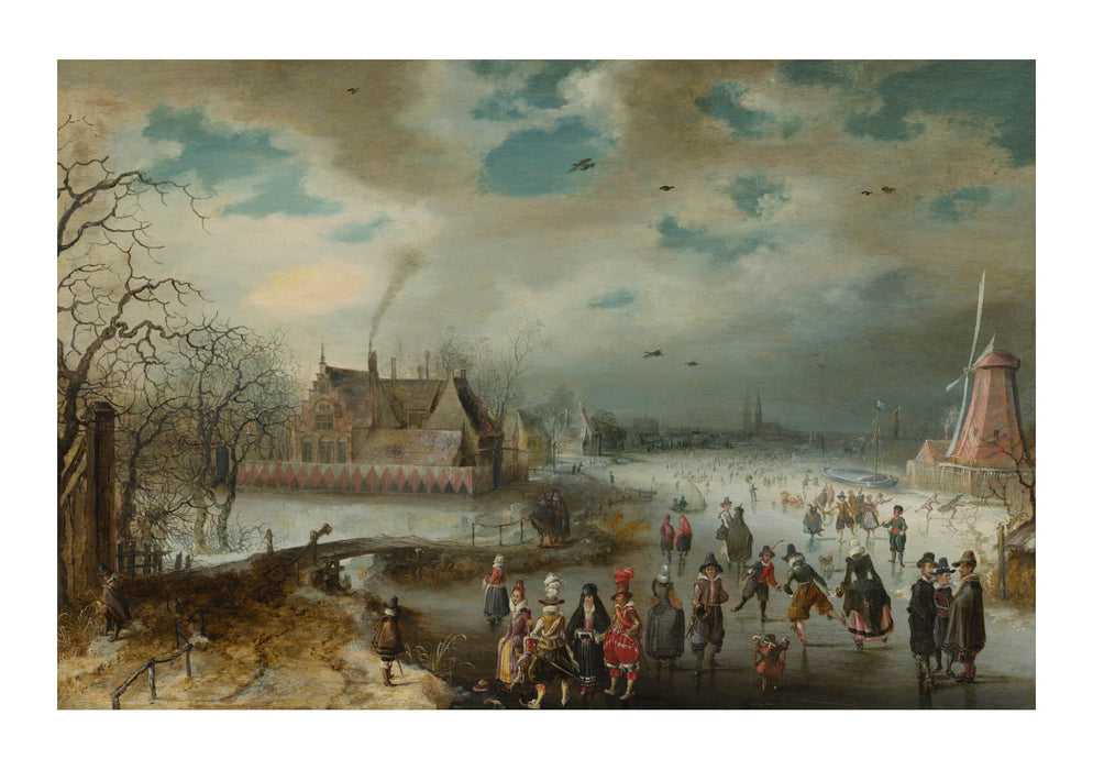 Adam Van Breen - Skating On The Frozen Amstel River