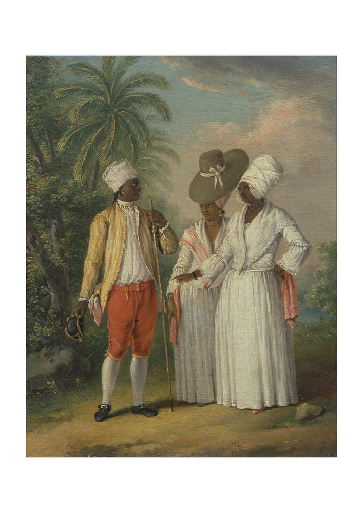 Agostino Brunias - Free West Indian Dominicans