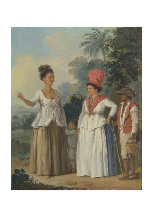 Agostino Brunias - West Indian Women Of Color