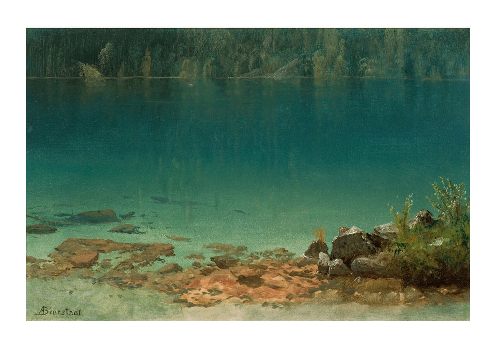 Albert Bierstadt - Lake Scene