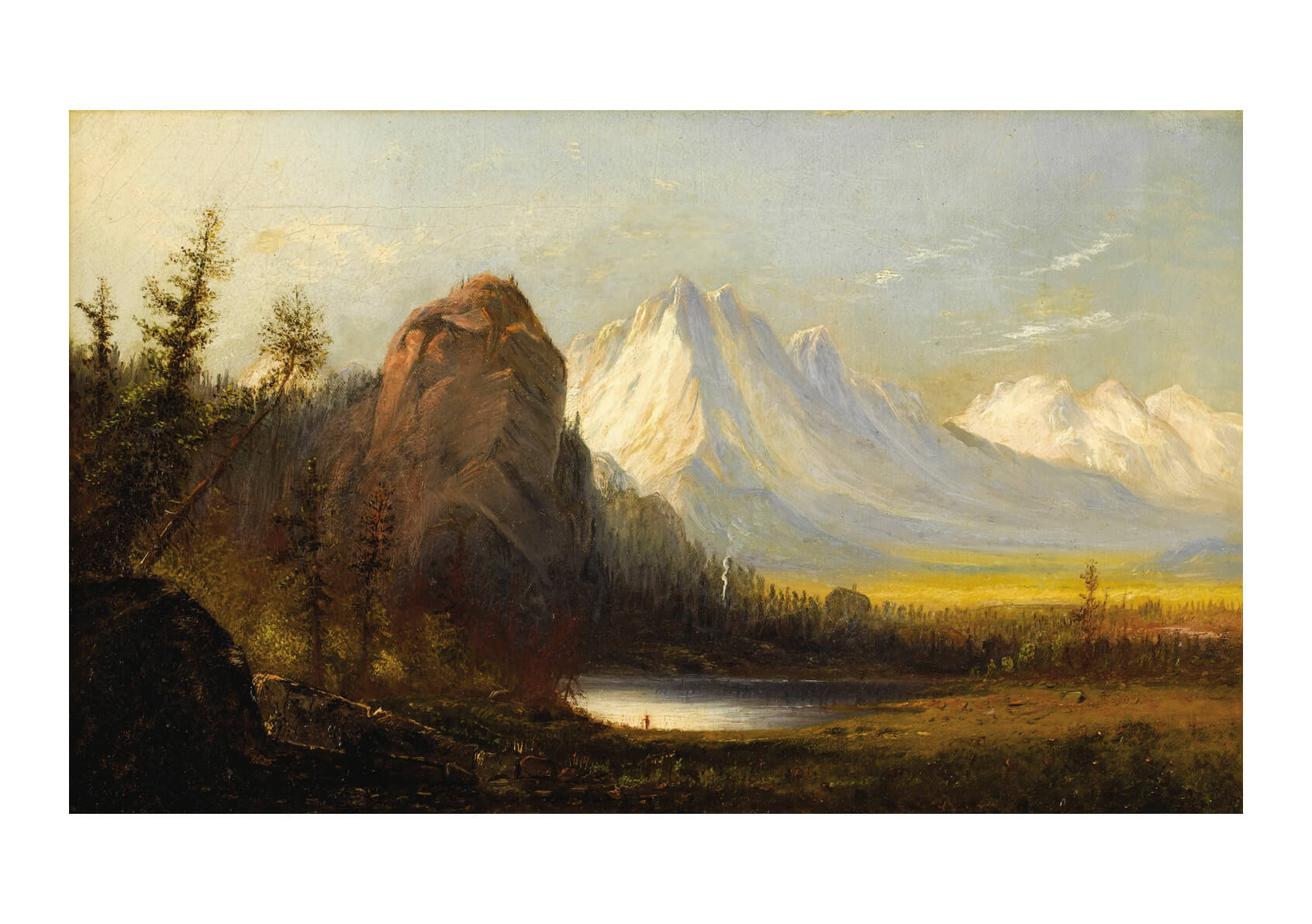 Albert Bierstadt - Manner of Cathedral Rock