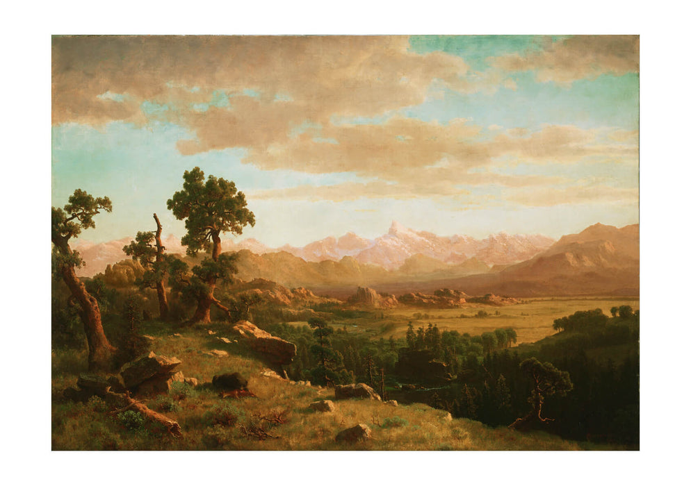 Albert Bierstadt - Wind River Country