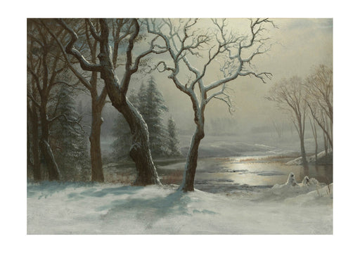 Albert Bierstadt - Winter in Yosemite
