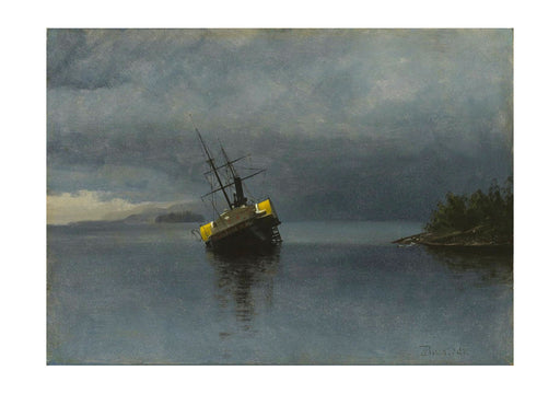 Albert Bierstadt - Wreck of the Ancon