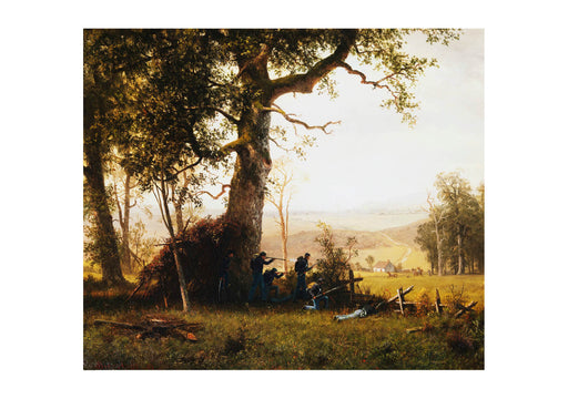 Albert Bierstadt Guerrilla Warfare