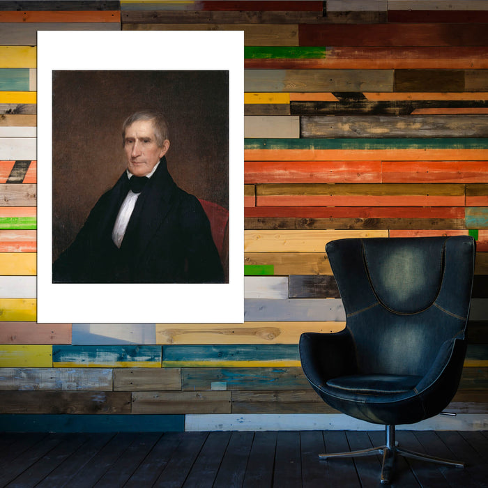 Albert Gallatin Hoit - William Henry Harrison