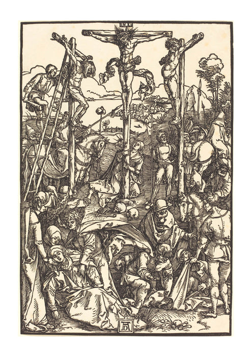 Albrecht Durer - Calvary with the Three Crosses