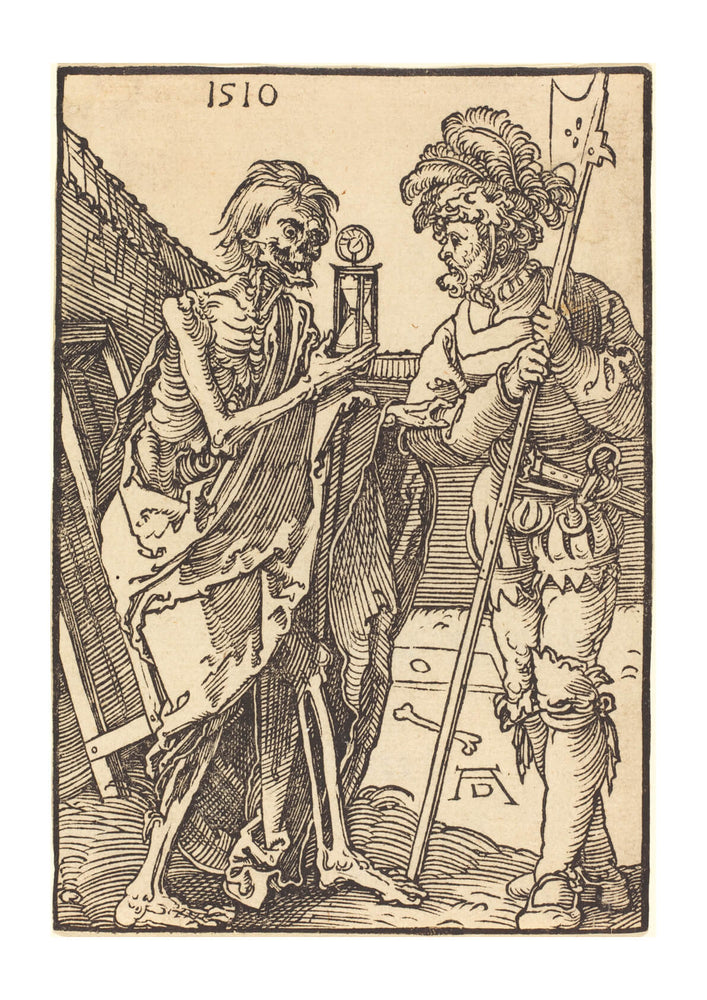Albrecht Durer - Death and the Lansquenet