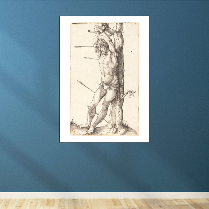 Albrecht Durer - Saint Sebastian Bound to the Tree
