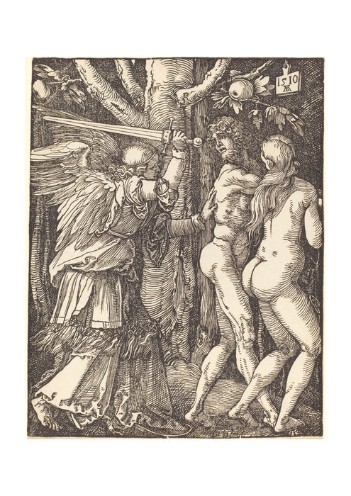 Albrecht Durer - The Expulsion from Paradise
