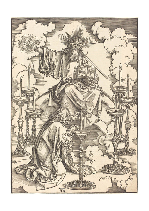 Albrecht Durer - The Vision of the Seven Candlesticks