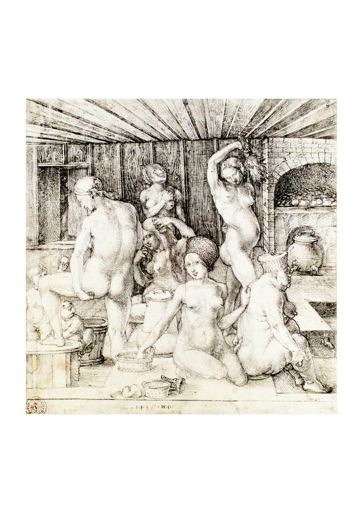 Albrecht Durer - Womans Bath