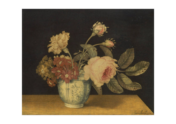 Alexander Marshal - Flowers In A Delft Jar