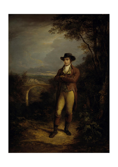 Alexander Nasmyth - Robert Burns 1759 1796. Poet