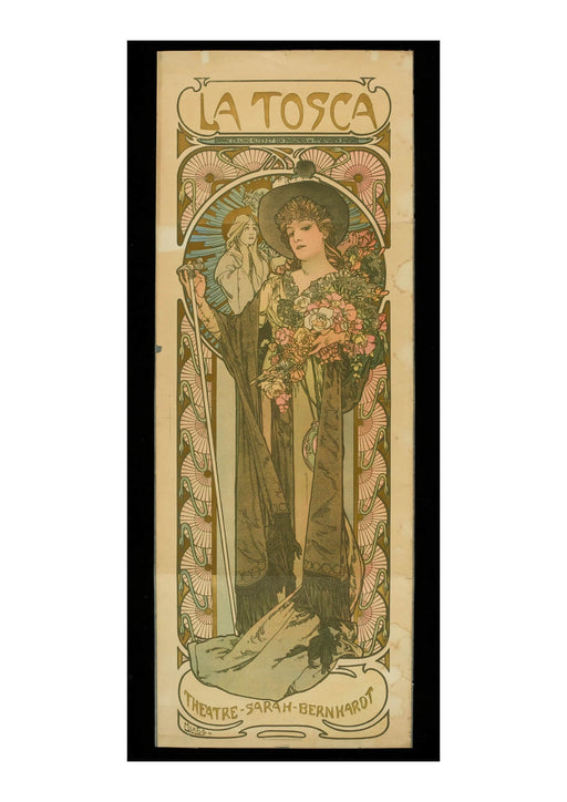 Alphonse Mucha - Sarah Bernhardt in the role of La Tosca