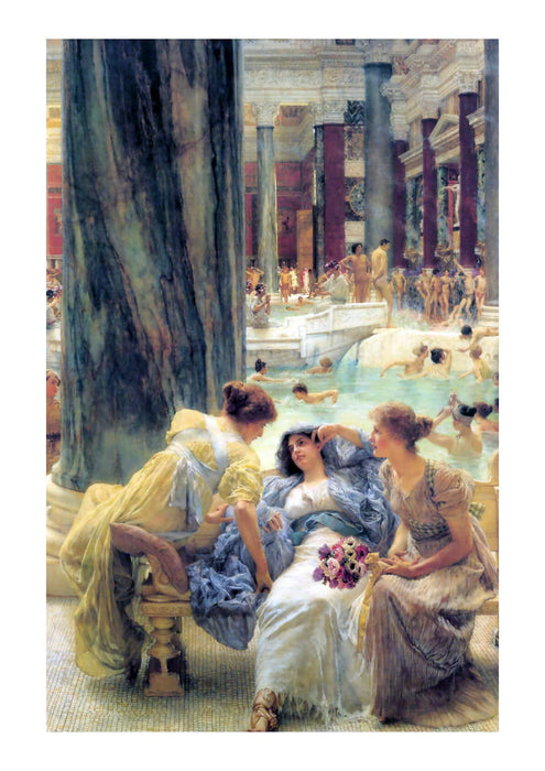 Alphonse Mucha - The Baths at Caracalla