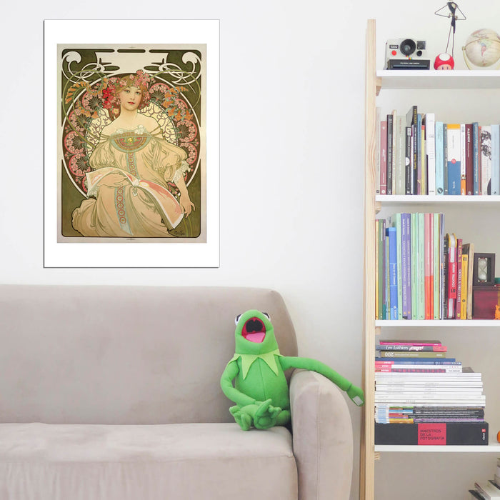 Alphonse Mucha Champagne Printer Publisher