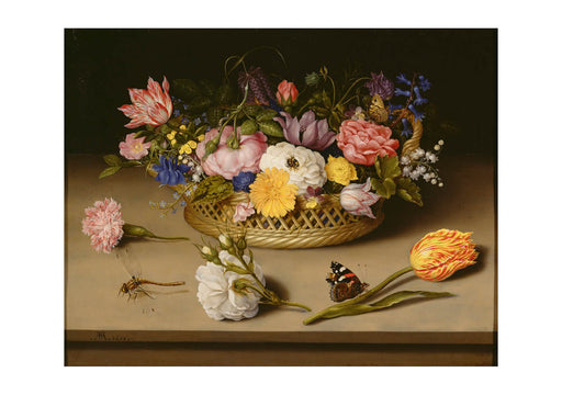 Ambrosius Bosschaert the Elder (Dutch Flower Still Life
