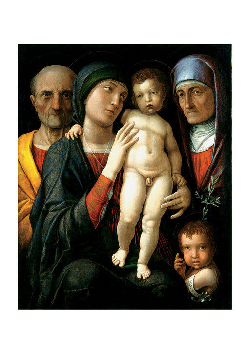 Andrea Mantegna - The Holy Family