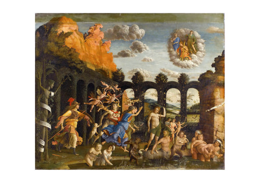 Andrea Mantegna - Vices Vertus Mantegna