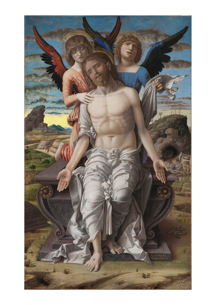 Andrea Mantegna Christ as the Suffering Redeemer