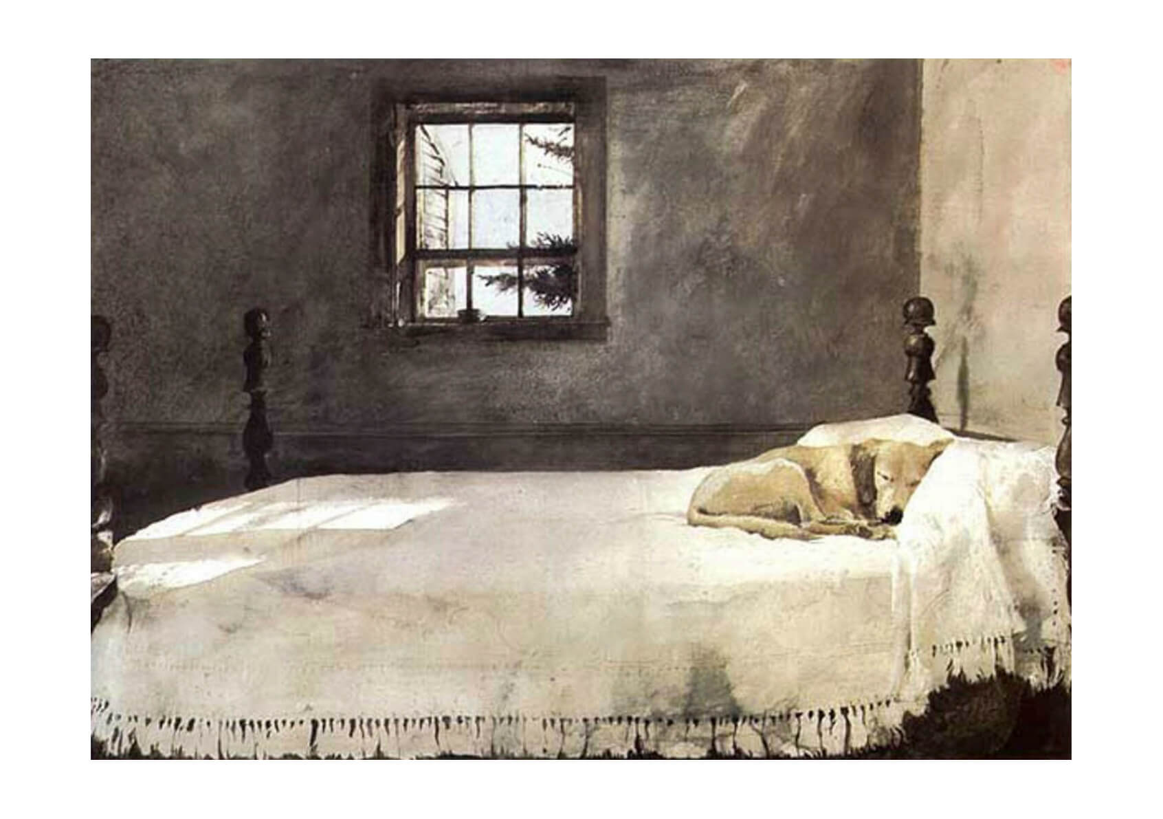 Andrew Wyeth - Master Bedroom