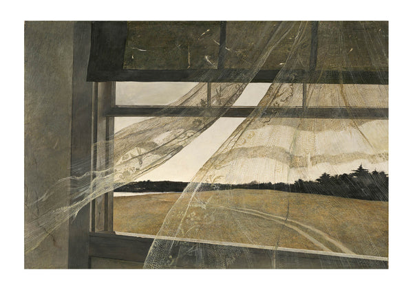 Andrew Wyeth Wind from the Sea
