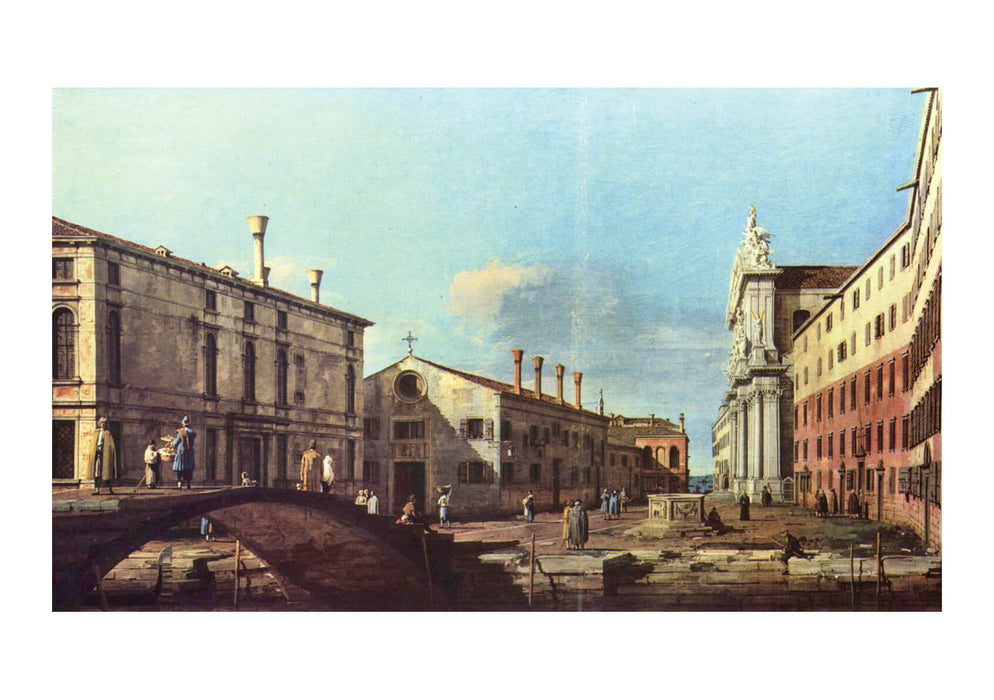Canaletto - Town Buildings