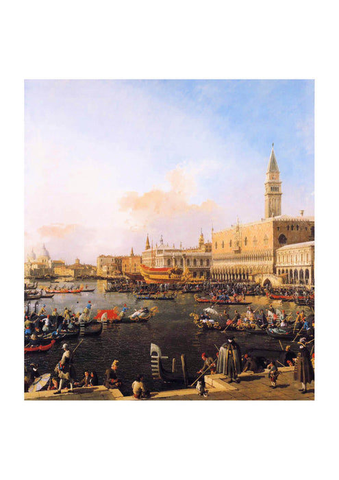Canaletto - Venice Bacino di San Marco on Ascension Day