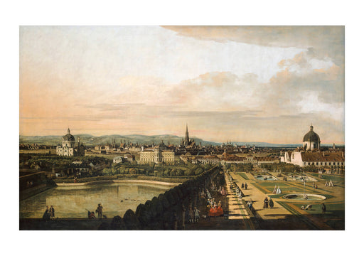 Canaletto - Vienna Viewed from the Belvedere Palace