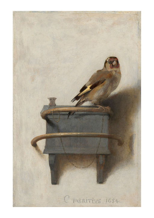 Carel Fabritius - The Goldfinch 1654