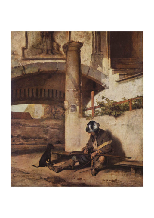 Carel Fabritius - The Sentry