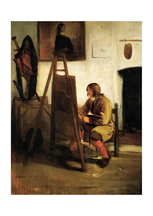 Carel Fabritius - Young Painter in his Studio