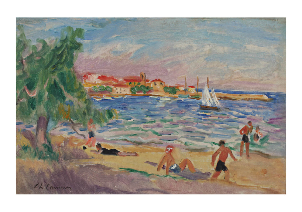Charles Camoin On the Beach