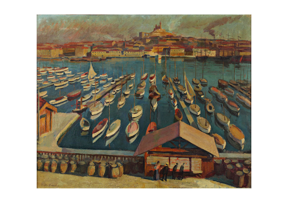 Charles Camoin The Port of Marseille