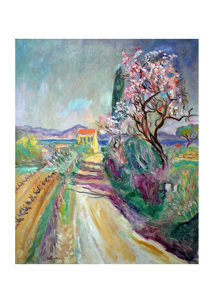 Charles Camoin The Road to Pinet Flowered Almond