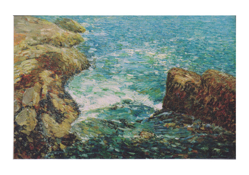 Childe Hassam Surf and Rocks