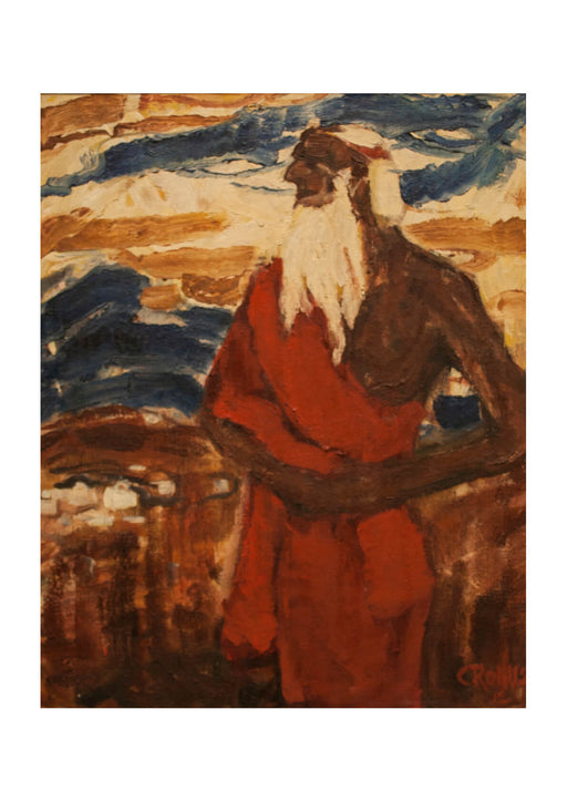 Christian Rohlfs - Moses Seeing the Promised Land
