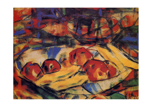 Christian Rohlfs - Still Life With Fruit
