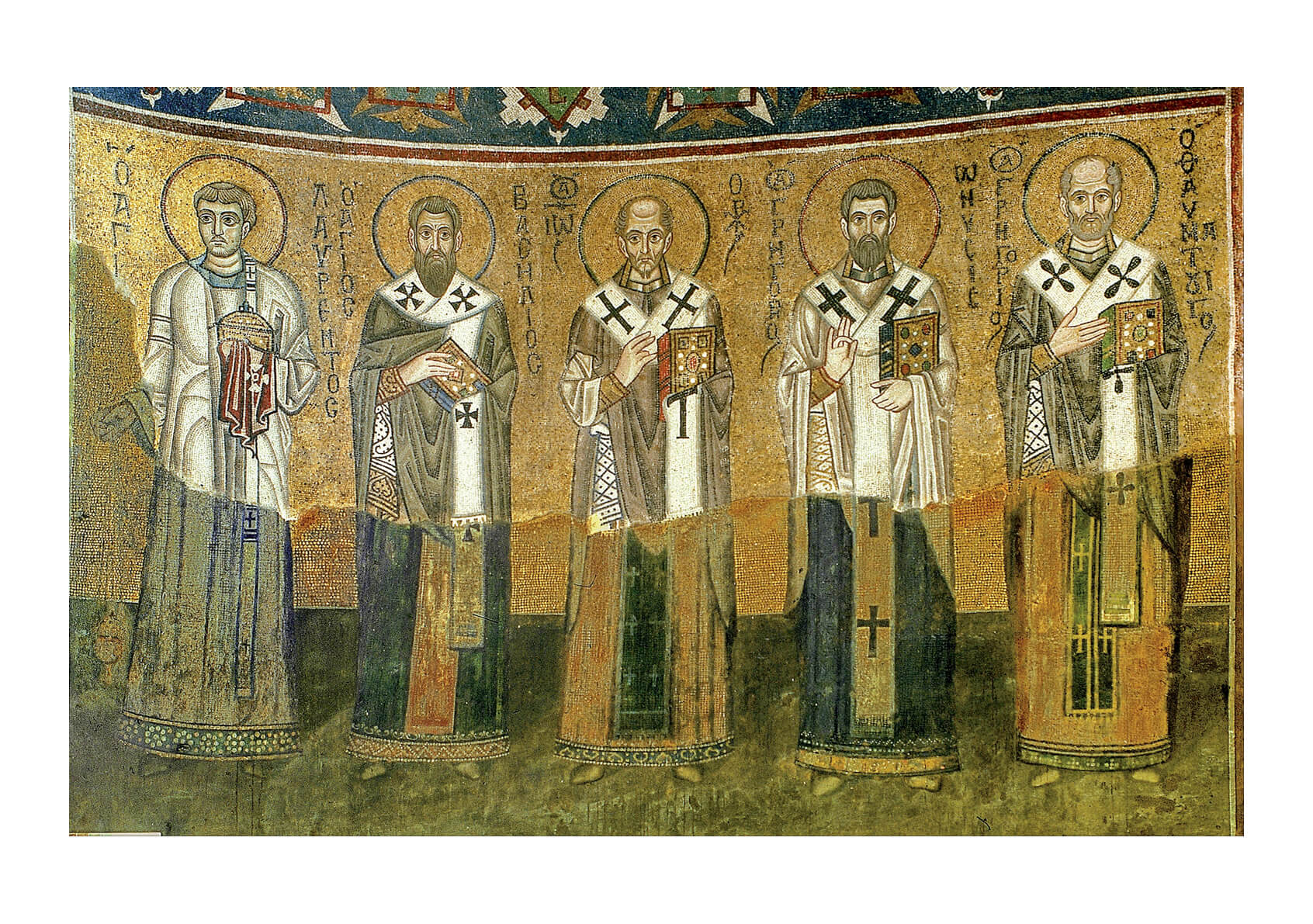 Church Fathers Order (left part)